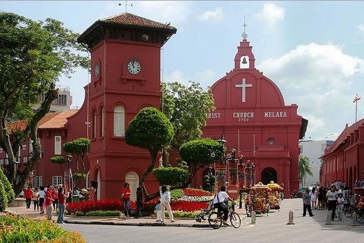 Фото: Церковь в Малакке